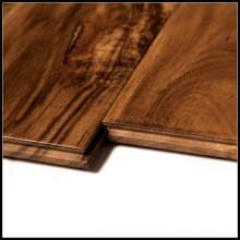 Pisos de madera de acacia sólida del grado de ABC / suelos de parqué