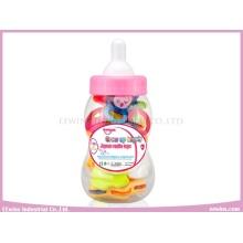 Juguetes de traqueteo de bebé en biberón para bebé (10PCS)