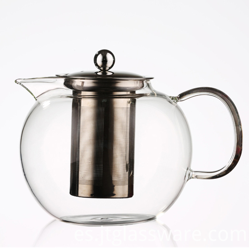 Direct Heating Glass Teapot