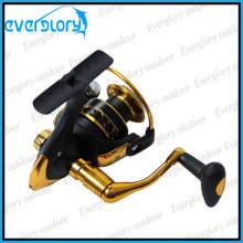 Black and Gold Cheap Spinning Reel