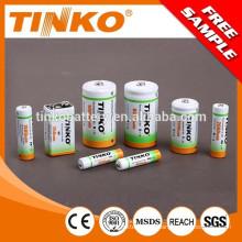 Taille de batterie rechargeable NI-MH AAA 600MAH/800MAH/900MAH