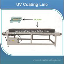 UV-Walzenbeschichtungsmaschine für glänzende mdf-Bord / Maschinen für UV-Verbundplatten