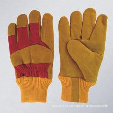 Rindspaltleder Handarbeitshandschuh-3083