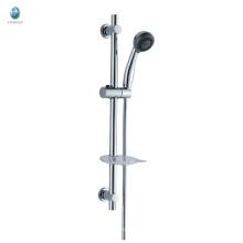 Кл-01 профессиональные хромированная латунь аксессуары для ванной комнаты с круглым ручной душ настенный подъемная ванна душ