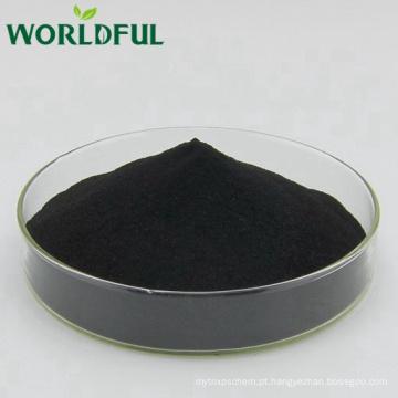 100% solúvel em água de alta pureza potássio fulvate pó brilhante a partir de fonte mineral natural