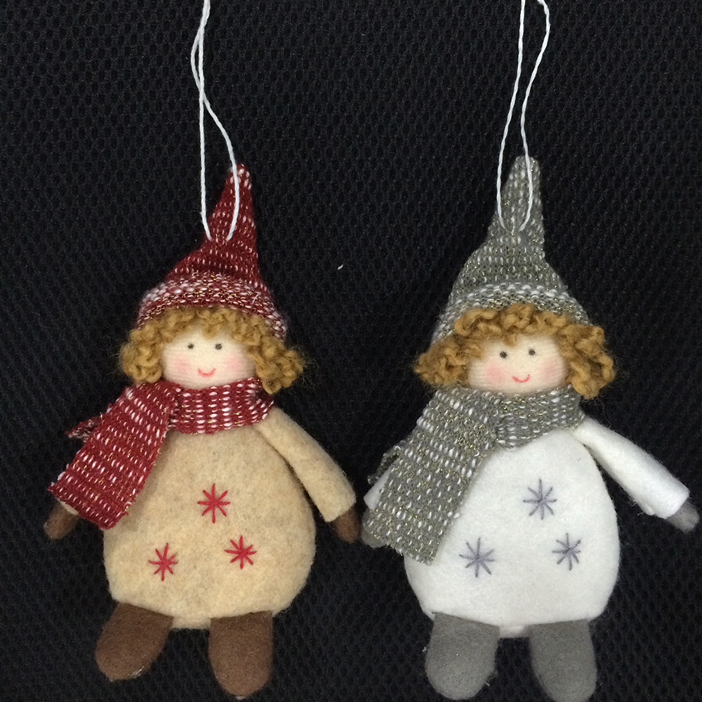 Christmas Hanging Ornaments With Kids Pattern