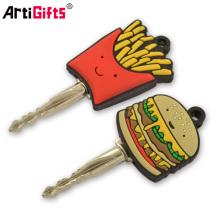 Promotion soft pvc key caps