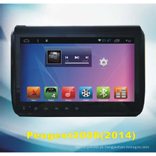 Android sistema de navegação GPS para Peugeot2008 2014 com DVD Player de carro