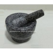 Mortiers de Pedra e Pilões Tamanho 13X9cm