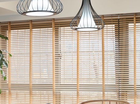 50mm Faux Wood Venetian Blind Windowshade