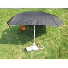 Neu kommen 5 Falten schwarz Regenschirm (YSF5021)