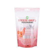 Customized Zip Lock Custom Biodegradable Food Zipprt Kraft Paper Plastic Tobacco Snack Packaging Bag