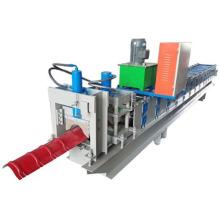 Máquina para fabricar telha de cumeeira
