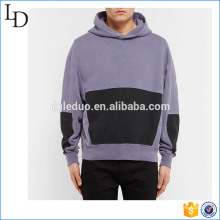 Overdyed factory direct sale two tone wholesale hoodies baggy design for men