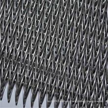 Heat resistant stainless steel pizza conveyor belt for oven