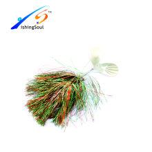 Los aparejos de pesca baratos SPL031 señuelo spinner cebo con dos hojas de spinner
