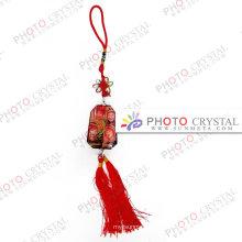 Кристаллический keychain / кристаллическое стекло / подарок / случай / кристаллический блок / промотирование / рекламировать / праздник