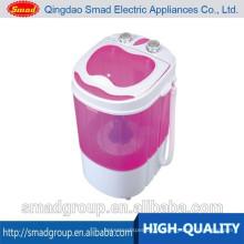 Отечественный малый размер мини портативный одноместный ванна стиральная машина