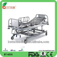 3-Crank cama hospitalar manual cama hospitalar