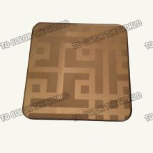 410 Edelstahl Ket004 geätzten Blatt für Dekorationsmaterialien