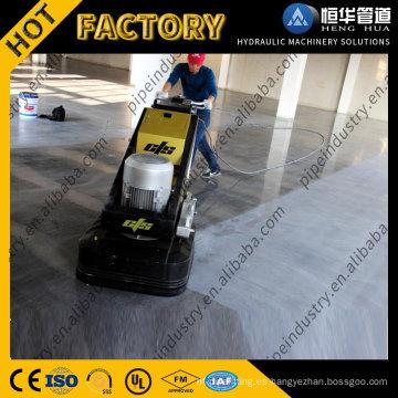 Pulidora y pulidora de piso de concreto