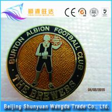OEM Metal Man-shaped Pin Badge For Metal Football Pin Badge