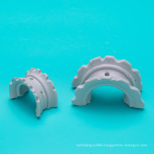 chemical packing saddle ring Ceramic material