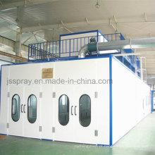 Equipamento de pulverização de ônibus para máquinas industriais