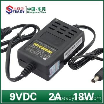 Desktop Type Power Adapter 9VDC 2A
