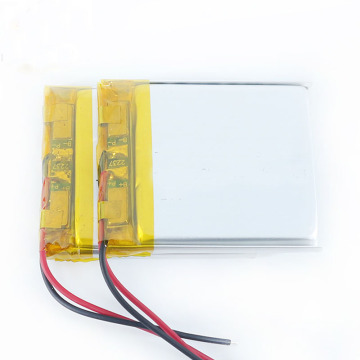 Batterie au lithium-polymère 3.7V 500Mah Lipo Battery