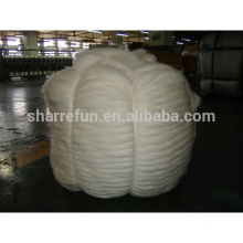 Pure chinese sheep wool tops white for spinning