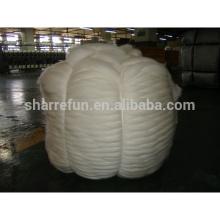 Чисто китайский овечьей шерсти топы белый для прядения