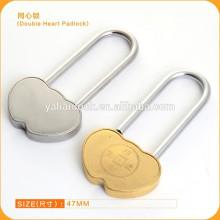 Hot Sale Soild Brass Love Lock Rose Shaped Wish Lock Love Padlock for Valentine's Day gift