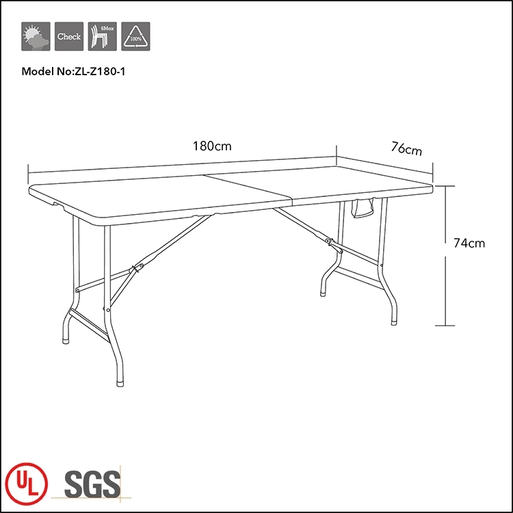 1.8M Fold-in-Half Table