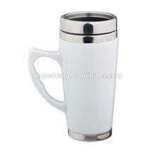 16 oz Ceramic Mug,Steel Coffee Mug,Travel Mug