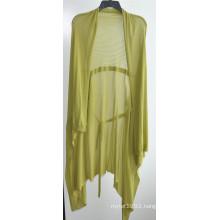 100%Cotton Ladies Long Sleeve Opean Knit Cardigan