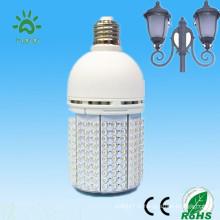 360 degrés avec un ventilateur de refroidissement interne 2000 lumen 270 led 100-240v 24v 12v 18w 20w mini éclairage alimenté par énergie solaire