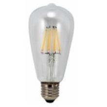 À incandescence LED lumière T64-Cog 6W 650lm 6PCS Filament