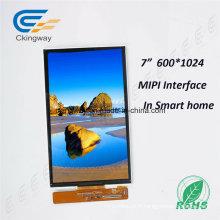"""7 """"600 (RVB) X1024 40 broches écran LCD"""