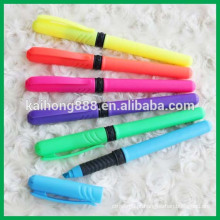 Promotional Gift Fluorescent Marker with Rubber