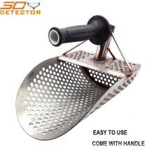 Good Quality Gold Metal Detector Sand Scoop Shovel Stainless Steel Sand Scoop