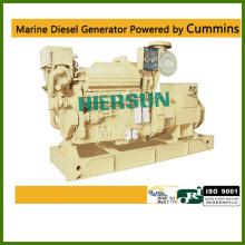 Alimentado por geradores diesel marítimos Cummins 200KW / 250KVA