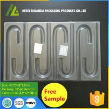 Bac à canette en plastique transparent