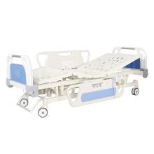 Lit d'hôpital médical électrique multifonction à trois fonctions