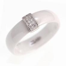 925 ювелирных изделий стерлингового серебра керамического кольца (R20003)