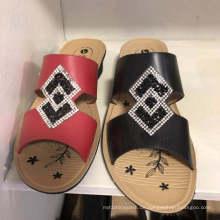 Pantoffel-Sandale-Flipflop-dünne Damen-Frauen Diamante-Einspritzungs-Schuhe