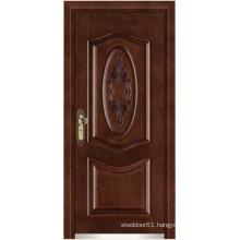 steel doors wood finish armored door/Armored doors of wood