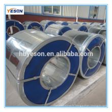 Bobine en acier galvanisé couleur / bobine en acier revêtue de couleur
