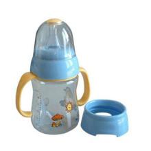 Grand diamètre pour un nettoyage et un remplissage plus faciles de la bouteille en plastique pour bébé