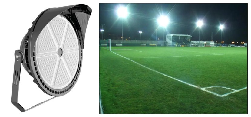 Outdoor Basketball Court Lights